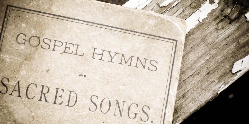 An old hymnal from 1920 - taken May 2006